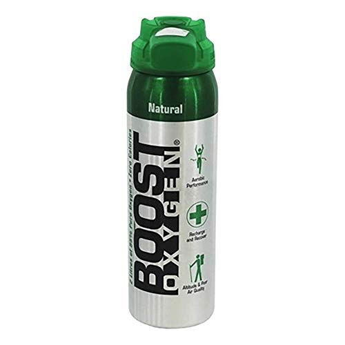 - Boost Oxygen- 95% Pure Aviator's Oxygen- 2 Liters
