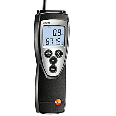 Testo 400563 4161 Small Vane Anemometer Kit