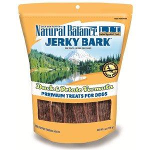 Natural Balance 723633441087 Lit Duck and Potato Jerky Bark 6-Ounce, My Pet Supplies
