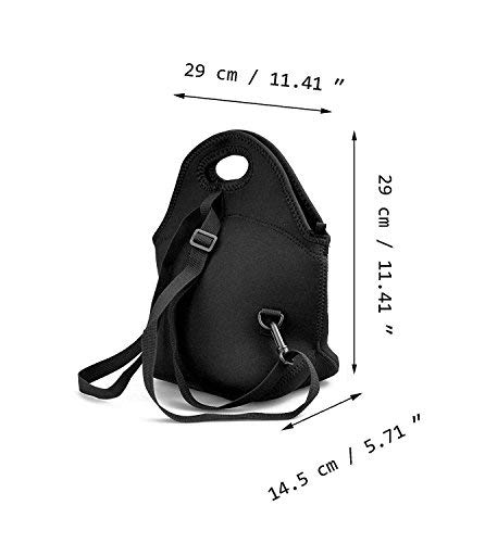 BLKDA25B Resistant Portable Lunch Bag Baby Boss Carry Case Tote Zipper Strap Box Cooler Container Bags Picnic Outdoor Travel Fashionable Handbag Pouch Women Men Kids Girls by BLKDA25B (Image #1)