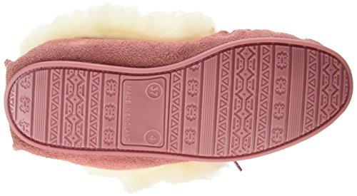 Spot On Suedemocc - Zapatillas de estar por casa Mujer Rosa (Pink)