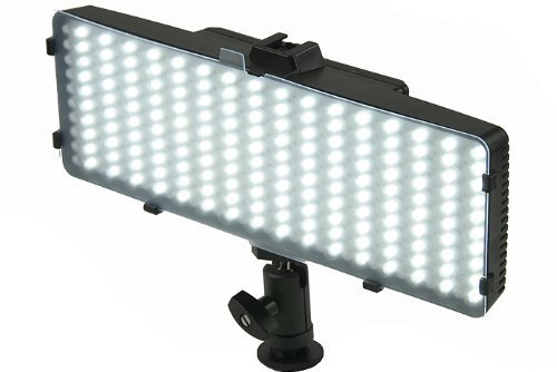 SL3200 320 LED Professional Video Light For Canon Digital EOS Rebel SL1, T1i, T2i, T3, T3i, T4i, T5, T5i, T6i, T6s, EOS 60D, EOS 70D, 50D, 40D, 30D, EOS 5D, EOS 5Ds, EOS 5D Mark III, EOS 6D, EOS 7D, EOS 7D Mark II, EOS-M Digital SLR Cameras