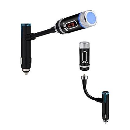 Llamadas Transmisor FM Radio Buke F33 Bluetooth con el coche manos libres Bluetooth