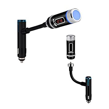 Amazon.com: Llamadas Transmisor FM Radio Buke F33 Bluetooth con el coche manos libres Bluetooth: Electronics
