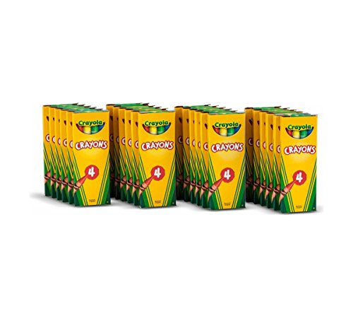 Crayola 4 ct Crayons - 24 Boxes per case Pack ()