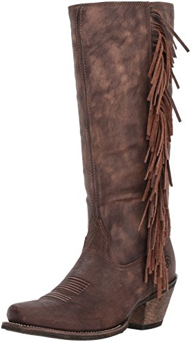 Ariat Women's Leyton Work Boot, Tack Room Chocolate, 7 B US by Ariat