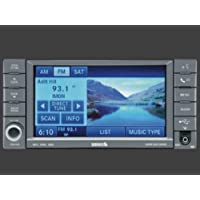2012-2012 Jeep Grand Cherokee AM/FM Navigation with CD - DVD, MP3, HDD, and 6.5ö Touch Screen (RHB)