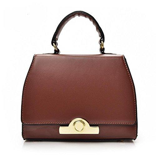 Aoligei Petit sac Lady mode sac à main avec une épaule C