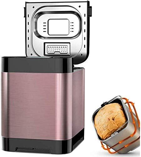 YZHM Machine à Pain, la Machine à Petit Budget Intelligent, yogourt Multifonctionnel Fabricant vin de Riz Jam pâte, Fabricant 1.5LB Grande capacité, des Textures 3 Mors