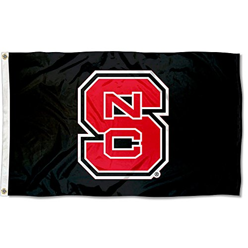North Carolina State Wolfpack Blackout Flag (State North Red University Carolina)