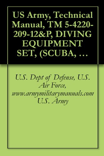 US Army, Technical Manual, TM 5-4220-209-12&P, DIVING EQUIPMENT SET, (SCUBA, TYPE B), (NSN 4220-01-023-1701), COMPRESSOR, RECIPROCATING, POWER DRIVEN; ... AND COMMERCIAL TRAILER CT-1), PAR ()