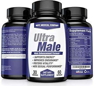 Best Fast-Acting Male Enhancing Pills - #1 Testosterone Booster for Men Increase Size, Drive, Stamina & Endurance - L Arginine, Tongkat, Maca, Ginseng Supplement - Boost Energy, Muscle & Performance (Best Way To Get A Bigger Dick)