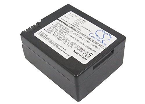 1400mAh Replacement Battery For SONY CCD-TRV108, DCR-TRV22
