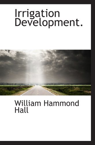 Irrigation Development.
