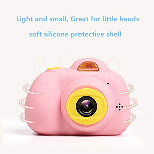 ESROVER Kids Digital Camera,2.0 Inch Screen 8MP Dual Shockproof Cameras Toys with Silicone Soft Cover Best Gifts Mini Selfie Camcorder for 4-8 Year Old Girls Boys Children by ESROVER (Image #8)