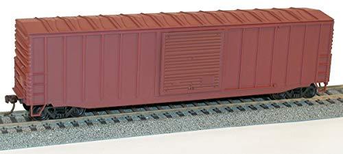 Accurail Model Trains 50' Exterior Post Boxcar Undecorated (HO) (Accurail Ho 50' Exterior Post)