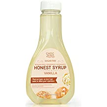 Honest Syrup, Vanilla Sauce. Sugar free, Low Carb, No preservatives. Thick and Rich. Sugar Alcohol free, Gluten Free, Dessert and Breakfast Topping. 1 Bottle(12oz)
