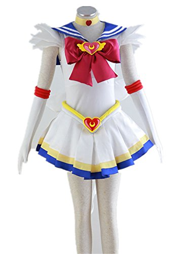 Love Anime Girl Woman Skirt Dress Uniform Cosplay Costume 7 Pcs Set by Love Cosplay