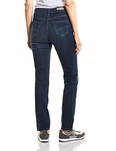 Used Blau Para Vaqueros Cecil authentic Straight Wash Mujer 10279 xCEwU