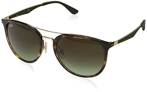 Ray-Ban RB4285 Square Sunglasses, Tortoise/Brown Gradient, 55 ()
