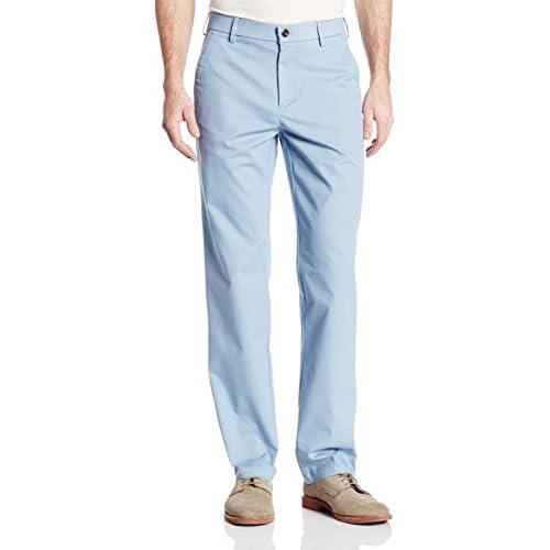 Haggar Hc10483 Men S Performance Khakis Straight Fit Pants