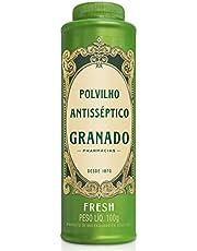 Granado Polvilho Antisséptico Fresh, Verde, 100G