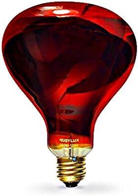 RubyLux NIR-A Near Infrared Bulb Grade A 6 Pack