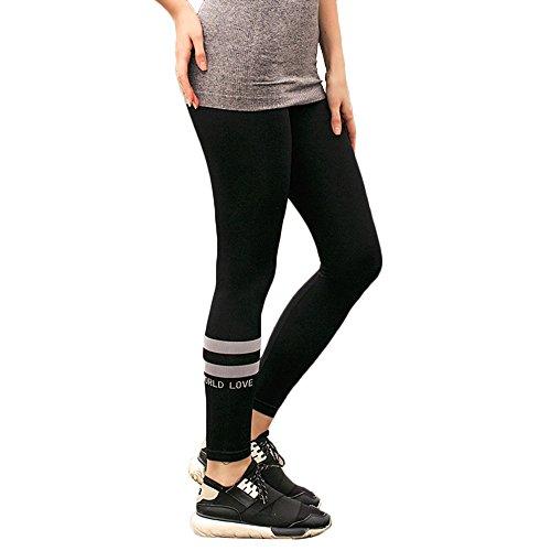 Juniors Stretch Leggings Double Running