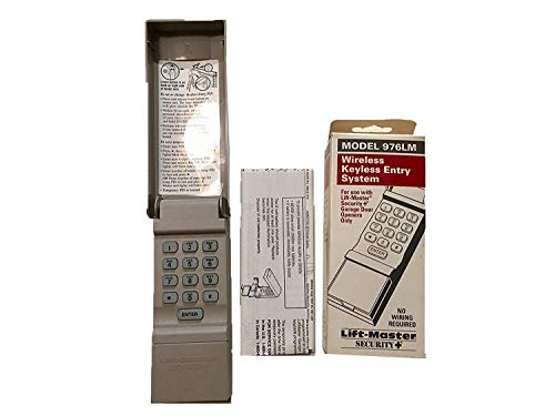 Liftmaster 976LM Garage Door Opener Keypad Remote Keyless Entry