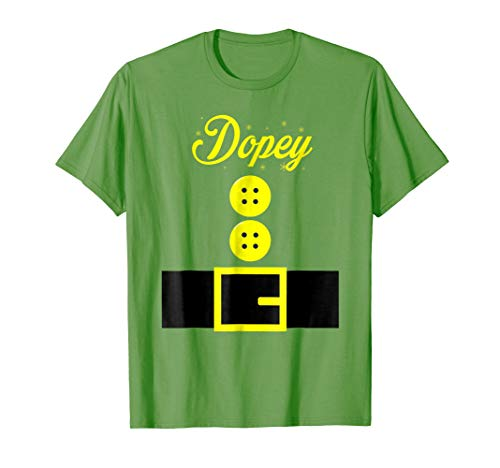 Dopey dwarf halloween matching group costume gift t shirt -