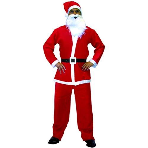 Bye Bye Brands Men's Santa Clause Costume ()