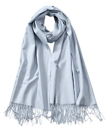 Cindy & Wendy Large Soft Cashmere Feel Pashmina Solid Shawl Wrap Scarf for -