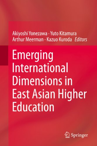 Download Emerging International Dimensions in East Asian Higher Education Pdf