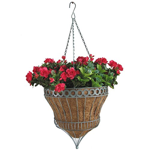 Parasol Hanging - Gardener Select New Parasol Basket, 14-Inch, Green - QEPP-14