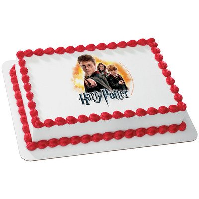 Image Unavailable Not Available For Color Harry Potter Licensed Edible Cake Topper