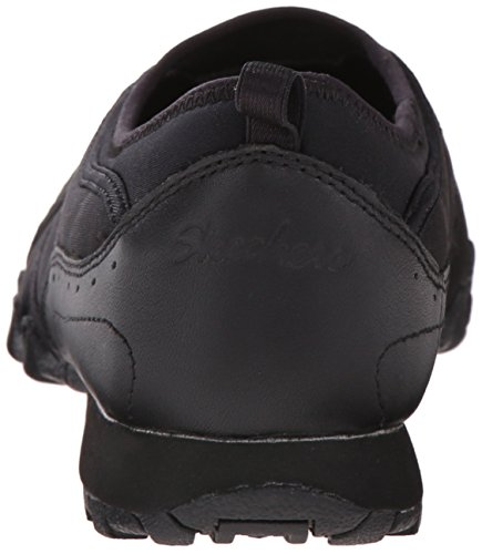Vincitore Black Scarpa Lycra Tennis Da Della Skechers Bikers leather 5qpYP