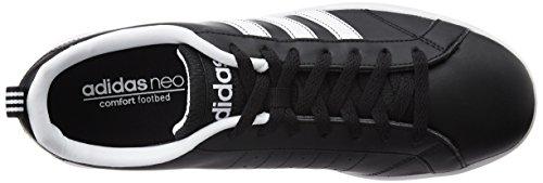 adidas Vs Advantage, Zapatillas para Hombre Negro (Negbas / Ftwbla / Ftwbla)