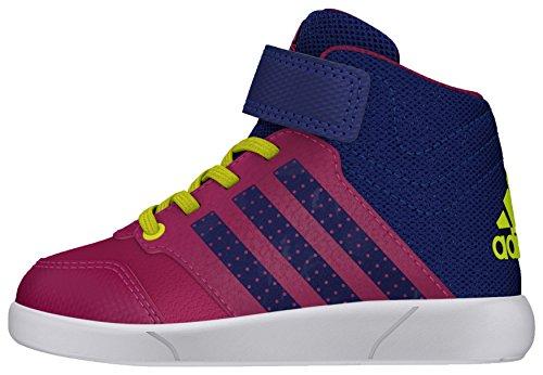 adidas Jan BS 2 Mid I, Zapatos de Primeros Pasos Para Bebés Rosa (Rosfue / Tinuni / Ftwbla)