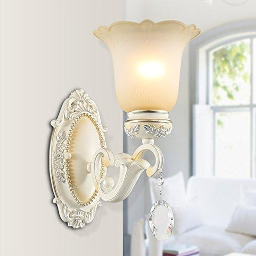 Retro Luxury Crystal Wall Lamp Bedroom Bedside Lamp Living Room Decorative Lighting Stairway Lights Lights House Wall Decoration ( Size : A ) by Crystal (Image #1)