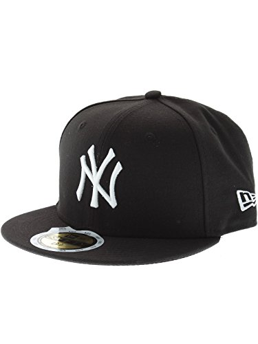 New Era New York Yankees Cap 59fifty Basic Fitted Cap Kappe Kids Youth Children