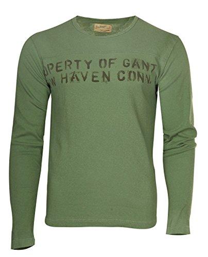 Gant Herren T-Shirts Blassgrün 224184-303