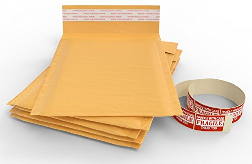 Padded  Wrap Mailers   Packing Brown Kraft Envelopes For Mailing  4 5X8 50