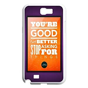 Samsung Galaxy N2 7100 Cell Phone Case White_Don Draper Quote FY1390790