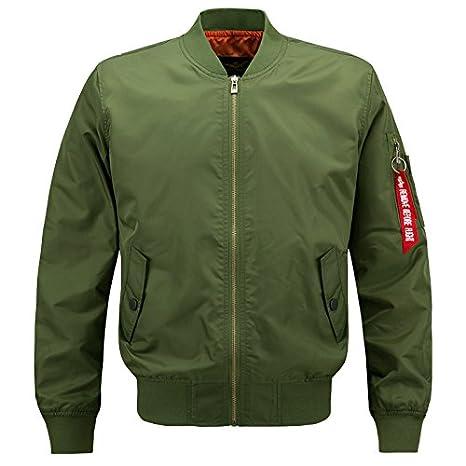 Bomber Jacket Men Plus Size Jacket For Men Military Jacket