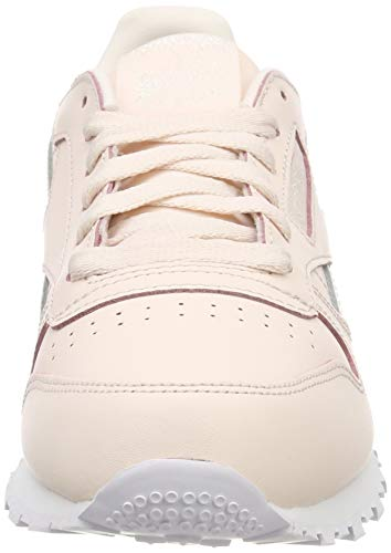 0 white Bambina Pink pale Classic Leather Reebok Sneaker Rosa 480q4g