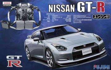 Fujimi 1/24 Nissan GT-R R35 w/Engine