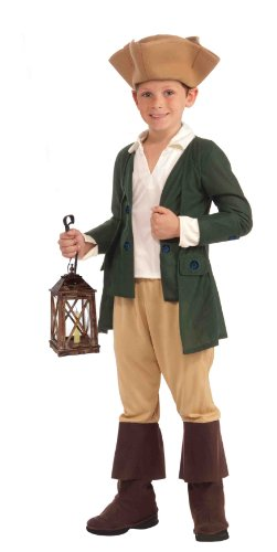 Forum Novelties Paul Revere Costume, Child Small - Boy Storybook Costumes