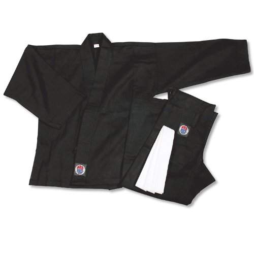 ProForce 6oz Student Karate Gi / Uniform - Black - Size 0000