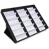 amzdeal Caja para Gafas de Sol con 18 Estuches para ...