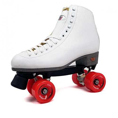 Riedell Citizen Outdoor Roller Skates with Red Wheels Size 9 by Riedell